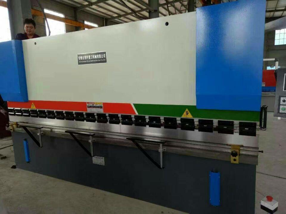 [最新签单发货动态]80吨×4米数控折弯机发往广东